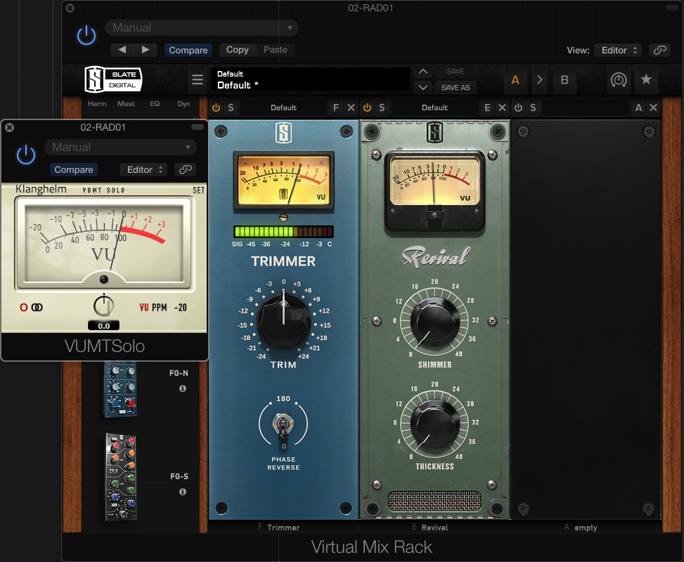 Slate Digital Virtual Mix Rack Review | musiciansopinion
